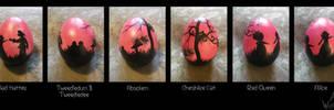 Easter Egg Alice in Wonderland