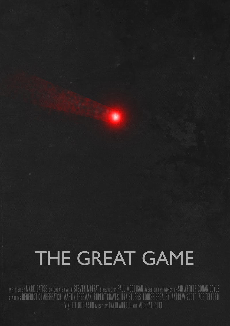 The Great Game - Movie Poster by Ashqtara