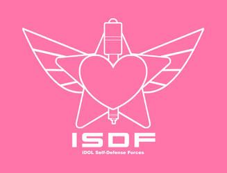 iDOL Self Defense Force Flag by MegaMikoyEX7