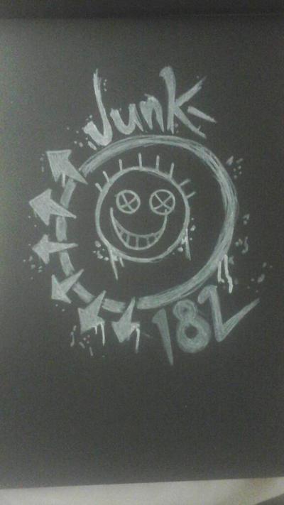 Junk 182 crossover art by ShivKit