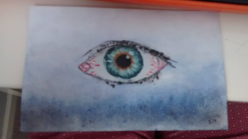 Eye Drawing by zakstokes666