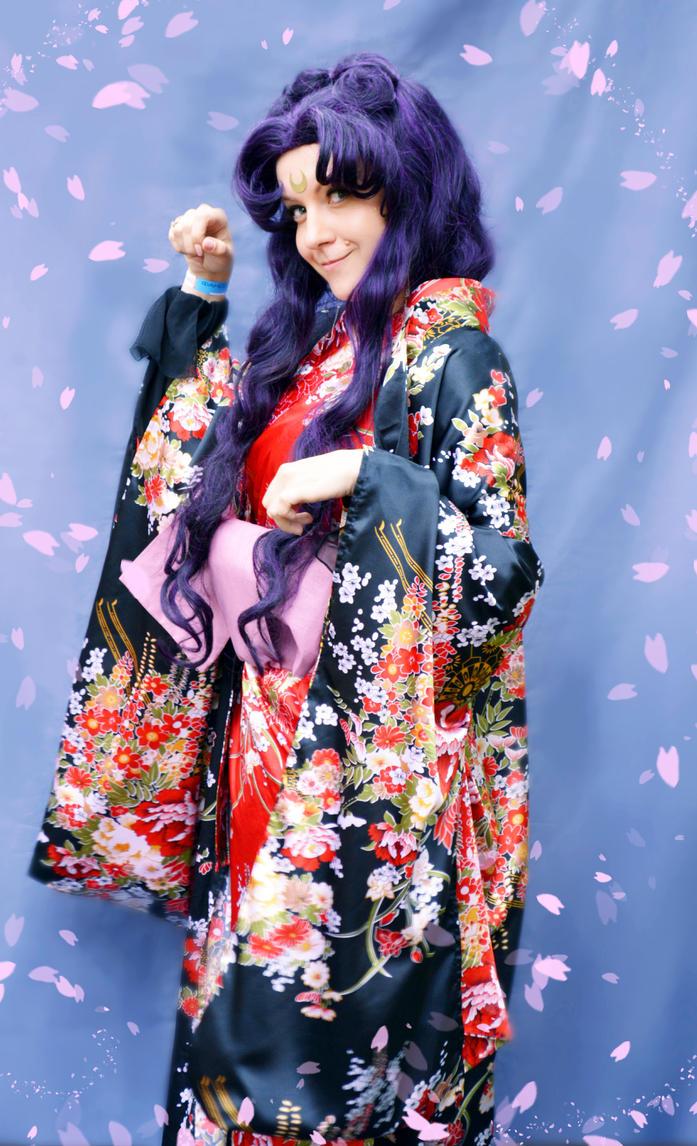 Human Luna in Kimono Cosplay by usagi999
