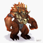 Redfang Hunter - Grizzlemaw by azerothin365days