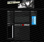 Gold Riders webdesign by Ingnition