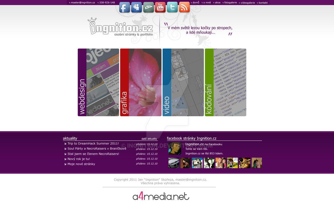 Ingnition.cz - webdesign v.2 by Ingnition