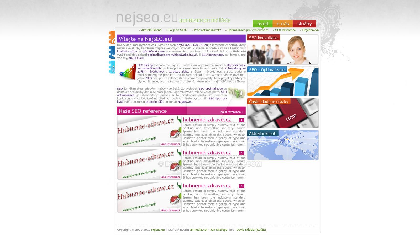 NejSEO.eu - webdesign v1 by Ingnition