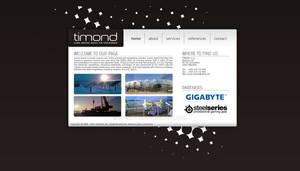 Timond - webdesign a logo