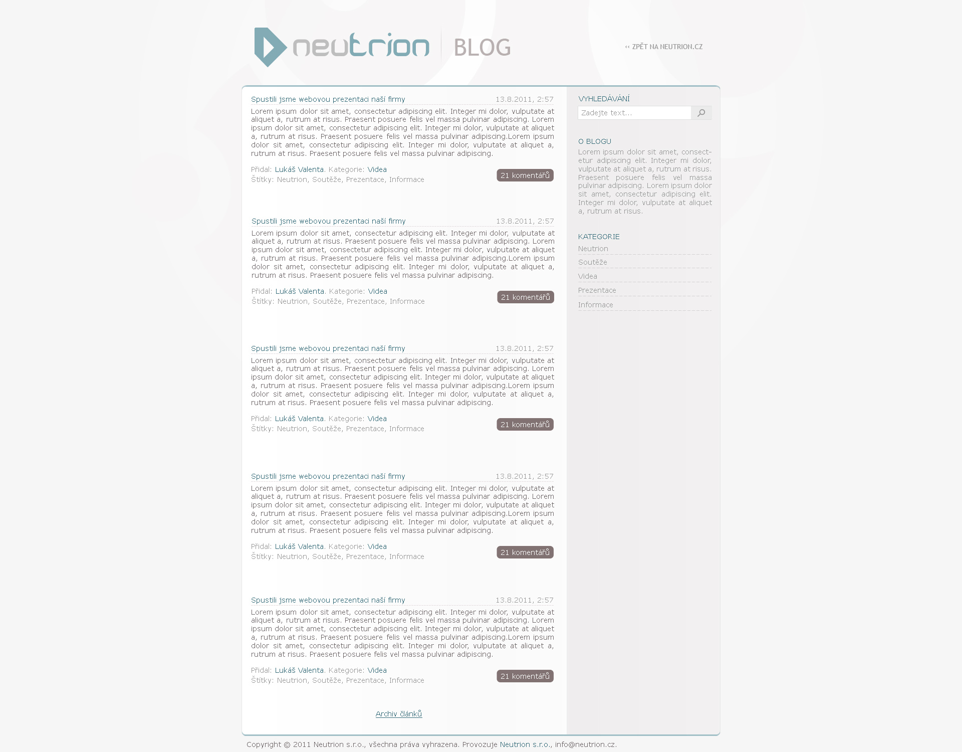 Neutrion - Blog by Ingnition