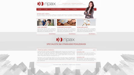 Ripax website by Ingnition