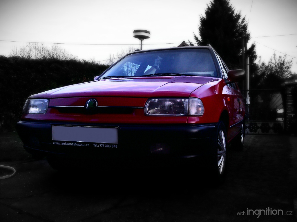 I love my Skoda Felicia by Ingnition