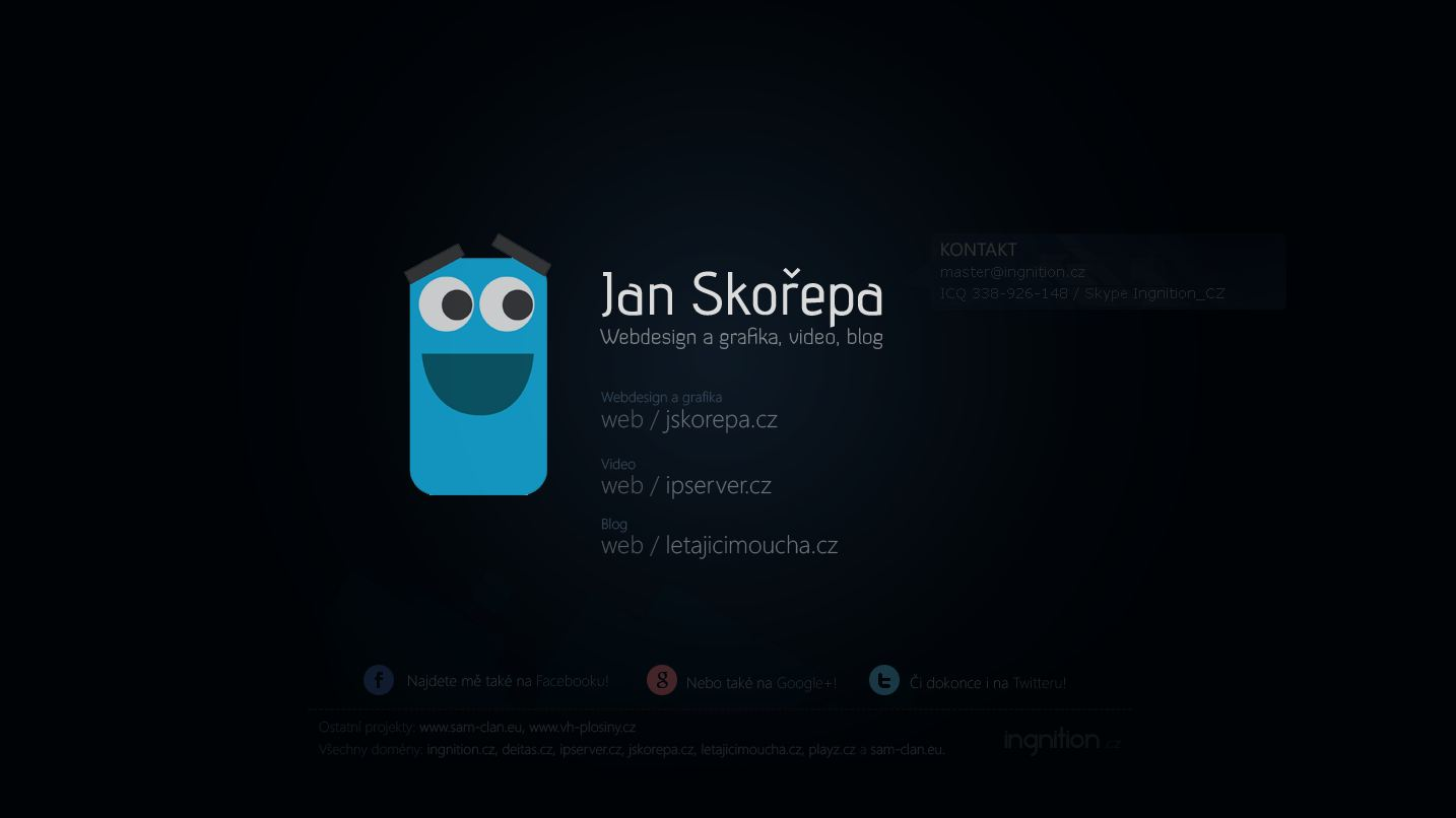 My personal page by Ingnition
