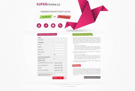 SUPERpujcka.cz by Ingnition