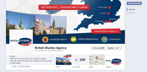 British Studies Agency - FB page by Ingnition