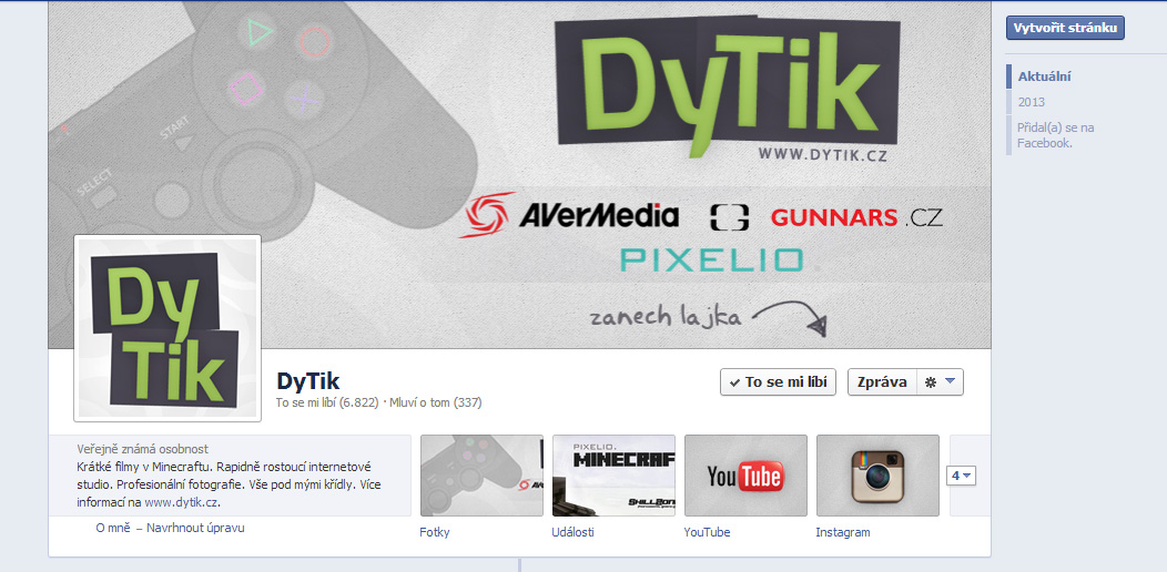 DyTik - FB page by Ingnition