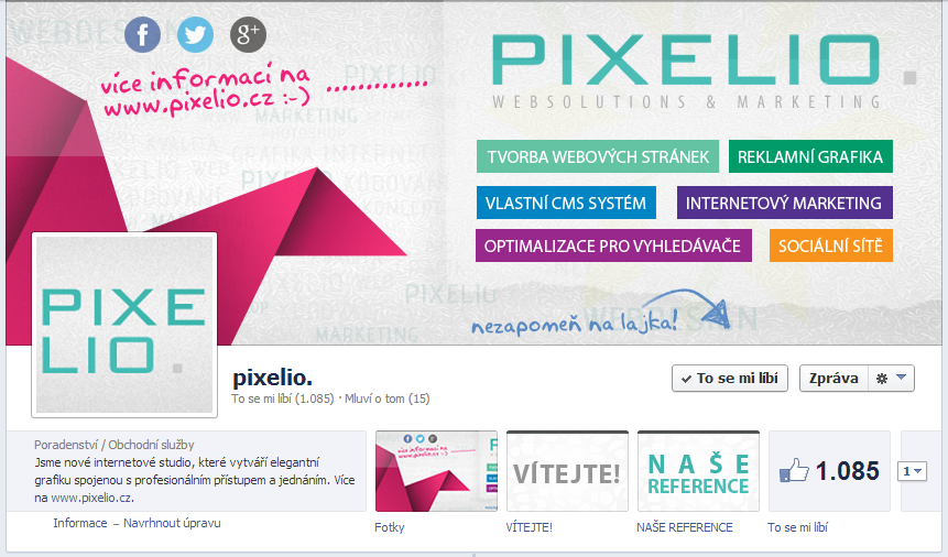 pixelio.cz - FB page 2 by Ingnition