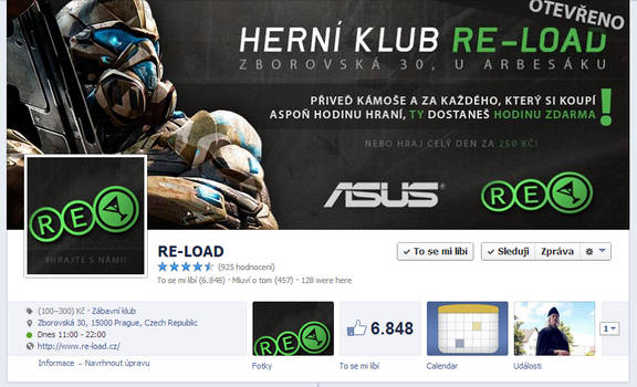 RE-LOAD - FB page