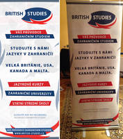 BRITISH STUDIES - Roll-up banner