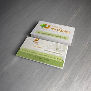 LEKARNA NA UDOLNI - Vizitky / Business card