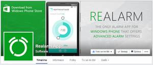 Realarm App - FB page