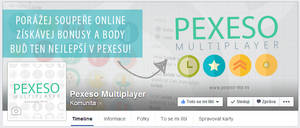 Pexeso Multiplayer - FB page
