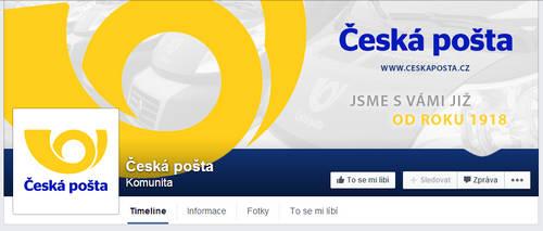 Ceska posta - Czech post - FB page
