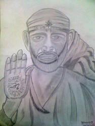 Sai Baba of Shirdi by divyesh31