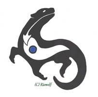 Otter tatto design by Riowolf