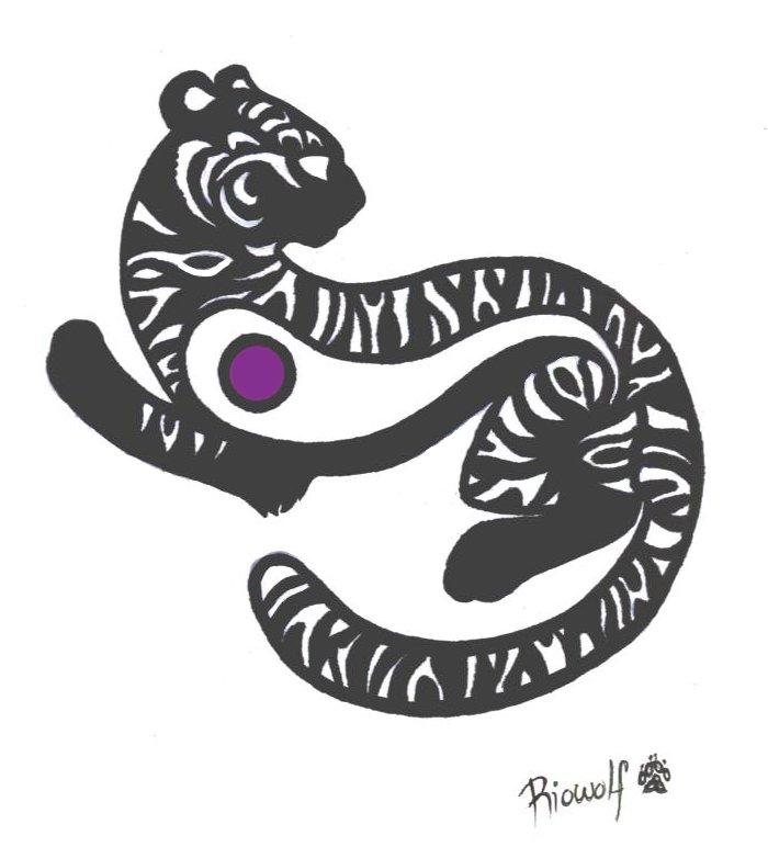 tiger tattoo designs. Tiger cub tattoo design