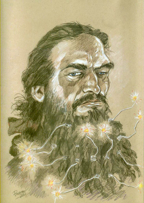 Portait of Blackbeard by brentb9702