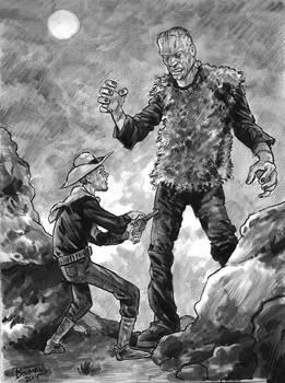 Jesse James versus Frankenstein's Monster