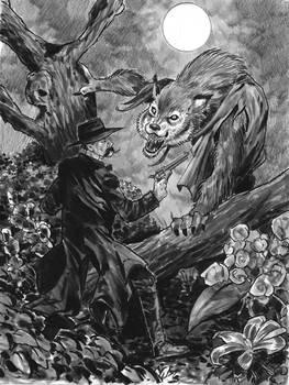 Wyatt Earp meets The Wolfman