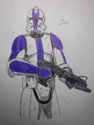 First Luietenant Clone Trooper Phase 2