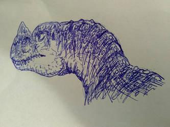Ceratosaurus Portrait 4