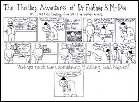 Dr Feather and Mr Dee by industrial-evolution