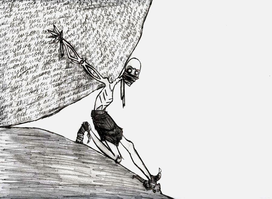 Sisyphus by industrial-evolution