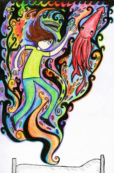 Squid Dreams by industrial-evolution