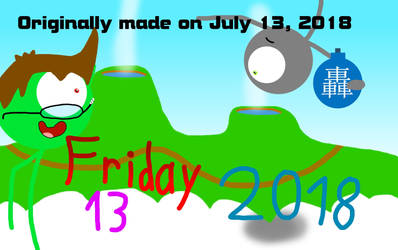 Stick Figure of Hype art - Friday 13th by Thrillking
