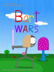 SFoH poster - Bart Wars by Thrillking