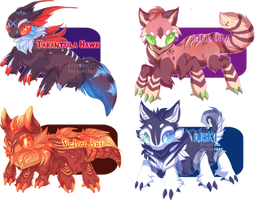 (PRICES LOWERED) Guest Jitter Adopts by Spiceroll