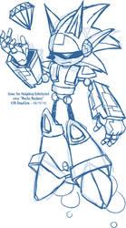 Sketch - Mecha Madness Sonic