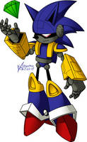 Mecha 'Madness' Sonic by kevinxnelms