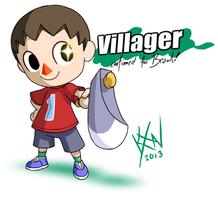 SSB Drawl - Newcomer: Villager by kevinxnelms