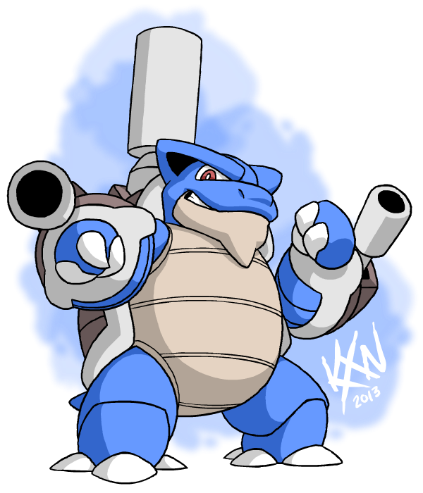 Mega Blastoise by kevinxnelms on DeviantArt