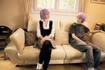 Crona Girl and Boy Cosplay