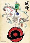 2014 - Year of the Horse - Kazegami