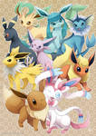 Eeveelutions : Dream Team