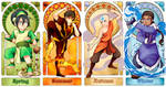 Avatar Art Nouveau - The Four Seasons