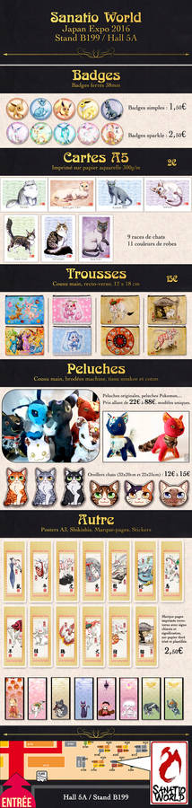 Japan Expo 2016 booth info