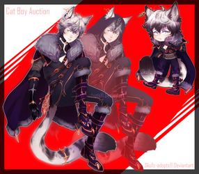 Cat Boy Auction CLOSED