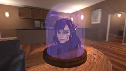 D.va head in jar by HipMahoko